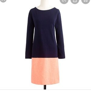 J Crew Maritime Color Block Dress